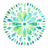 抽象五颜六色的太阳 库存照片