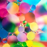 抽象五颜六色的宏观背景 库存图片