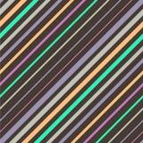 抽象五颜六色的对角镶边背景 库存照片