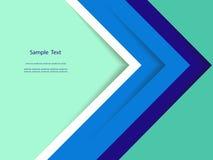 抽象五颜六色的报告盖子模板设计 图库摄影