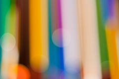 抽象五颜六色的数据条向量 免版税库存照片