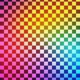 抽象五颜六色的方形的透明背景 向量 免版税库存照片
