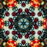 抽象五颜六色的样式背景纹理 库存照片
