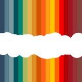 抽象五颜六色的模板横幅背景 向量 库存照片