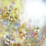 抽象五颜六色的球形 库存照片