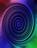 抽象五颜六色的球状圈形状 向量例证