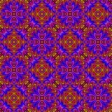 抽象五颜六色的瓦片样式 无缝例证的绳索 免版税图库摄影