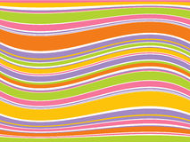 抽象五颜六色的线路向量 库存照片