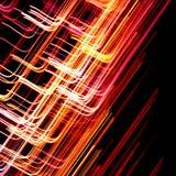 抽象五颜六色的线路 免版税库存照片