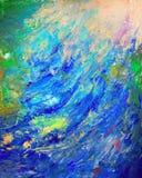 抽象五颜六色的绘画 库存图片