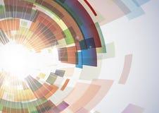 抽象五颜六色的背景。 库存图片