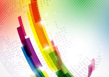 抽象五颜六色的背景。 库存照片