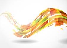 抽象五颜六色的背景。 免版税库存图片