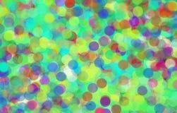 抽象五颜六色的背景框架Bokeh 免版税库存图片
