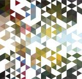 抽象五颜六色的背景由三角EPS10传染媒介制成 库存照片