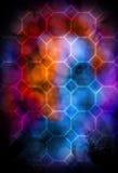 抽象五颜六色的背景 库存图片