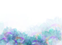 抽象五颜六色的花背景例证 库存照片
