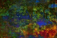 抽象五颜六色的荧光的背景纹理 免版税库存图片