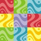 抽象五颜六色的设计 库存图片