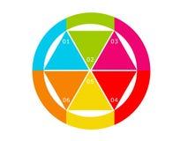 抽象五颜六色的设计 免版税库存照片