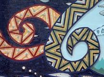 抽象五颜六色的马赛克 库存照片