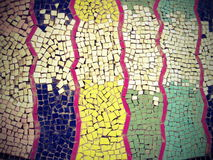 抽象五颜六色的马赛克 免版税图库摄影