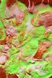 抽象五颜六色的绘画 库存照片