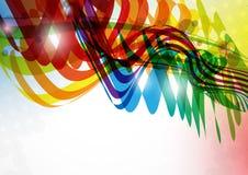 抽象五颜六色的Bckground。 库存图片