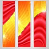 抽象五颜六色的Bnner。 免版税库存照片