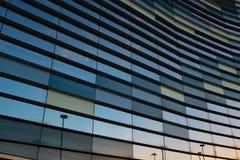 抽象企业内部,天空看法  背景概念 库存图片