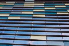 抽象企业内部,天空看法  背景概念 免版税库存照片
