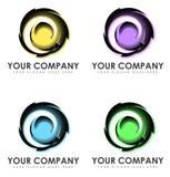 抽象企业商标 免版税图库摄影