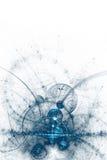 抽象企业科学或技术背景 向量例证