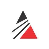 抽象会计财务管理商标设计模板 库存图片