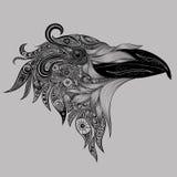抽象传染媒介乌鸦 库存照片
