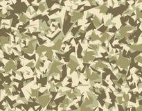 抽象传染媒介军事伪装背景 免版税库存图片