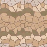 抽象传染媒介多角形无缝的样式皮包骨头的颜色 库存图片