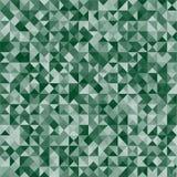 抽象传染媒介军事伪装背景由几何三角形状做成 免版税图库摄影