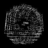 抽象传染媒介建筑师 库存照片