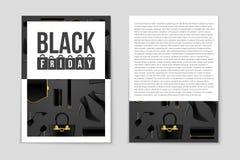 抽象传染媒介黑色星期五布局背景 对创造性的艺术设计,名单,页,大模型题材样式,横幅,概念 皇族释放例证