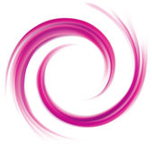 抽象传染媒介螺旋背景绯红色颜色 库存图片