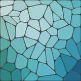 抽象传染媒介马赛克五颜六色的背景 库存图片