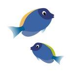 抽象传染媒介鱼 库存图片