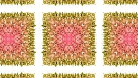 抽象低多样式使成环的背景 3d在4k的无缝的动画 现代梯度颜色 2 向量例证