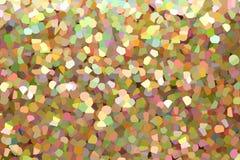 抽象例证,五颜六色的五彩玻璃样式 免版税库存图片