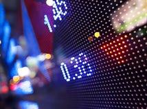 抽象信息股票 库存照片