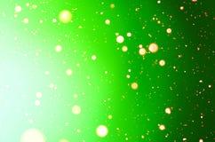 抽象假日绿色背景 免版税库存照片