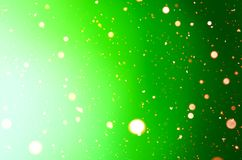 抽象假日绿色背景 库存照片