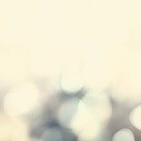 抽象假日背景,美好的发光的圣诞灯 免版税库存照片