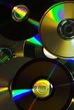 抽象光盘 库存照片